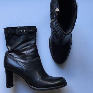 Cole Haan Dark Brown Boho Boots Sz 8